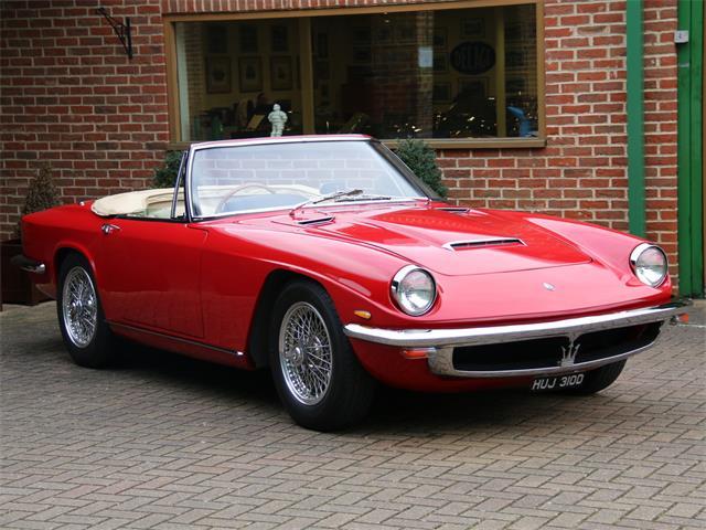 1966 Maserati Mistral 3.5 litre spyder | 879465