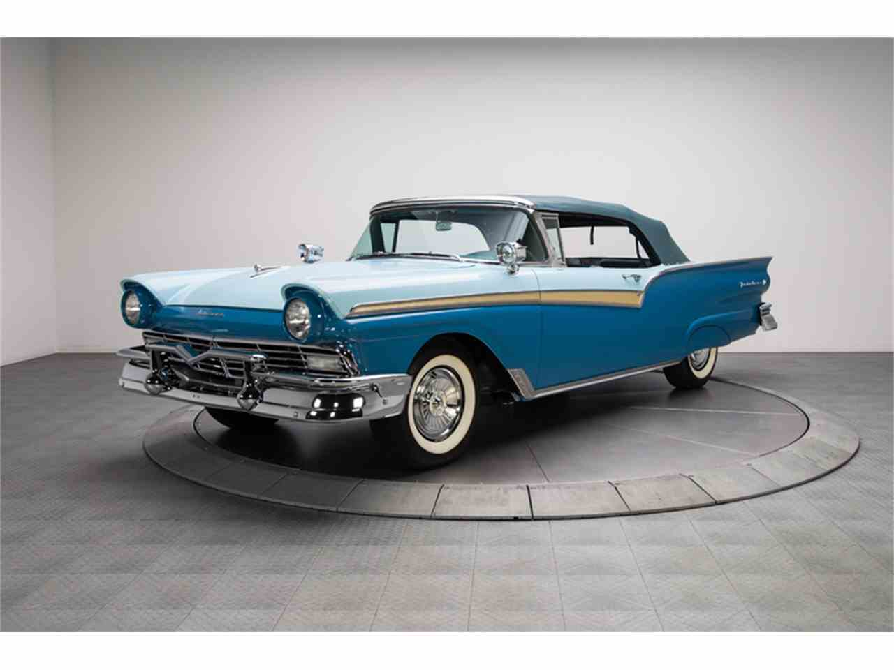 1957 ford fairlane 500 for sale cc 879583. Black Bedroom Furniture Sets. Home Design Ideas