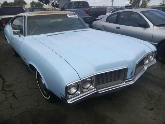 1970 Oldsmobile CUTLASS HOLIDAY COUPE | 879832