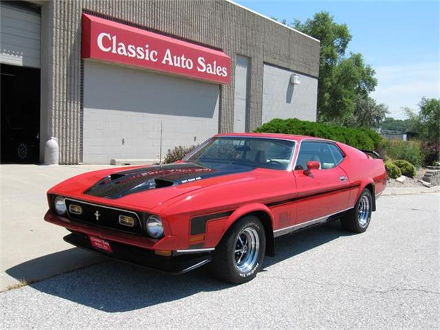 1972 Ford Mustang Mach 1 | 879887