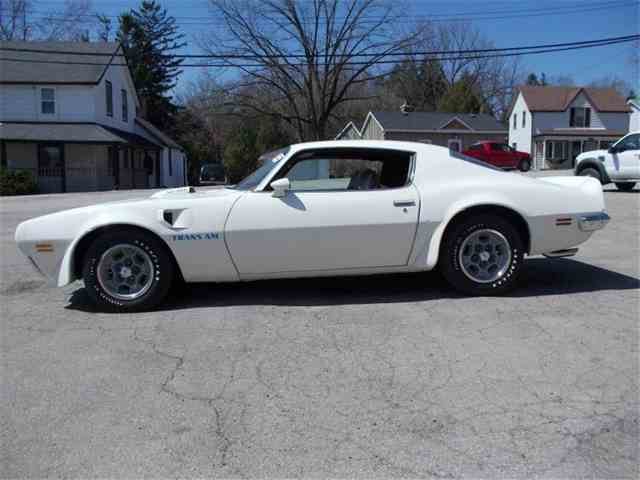 Picture of Classic '73 Pontiac Firebird Trans Am located in Dundas Ontario Auction Vehicle Offered by Old Brock Muscle Cars - IVWC