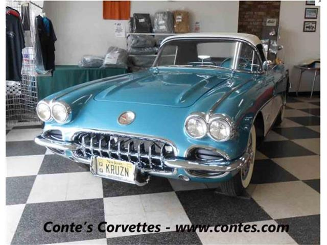 1960 Chevrolet Dual Quad Corvette