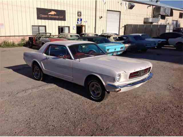 1965 ford mustang 881593