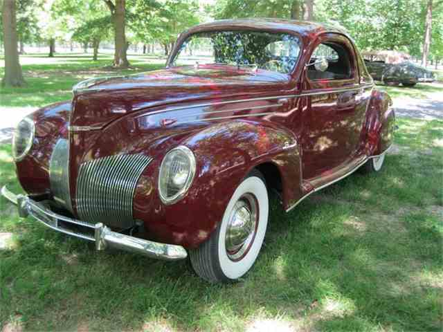 1939 Lincoln Zephyr Coupe V 12 | 881819