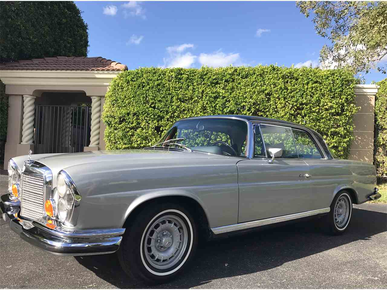1970 mercedes benz 280se for sale cc for Palm beach mercedes benz