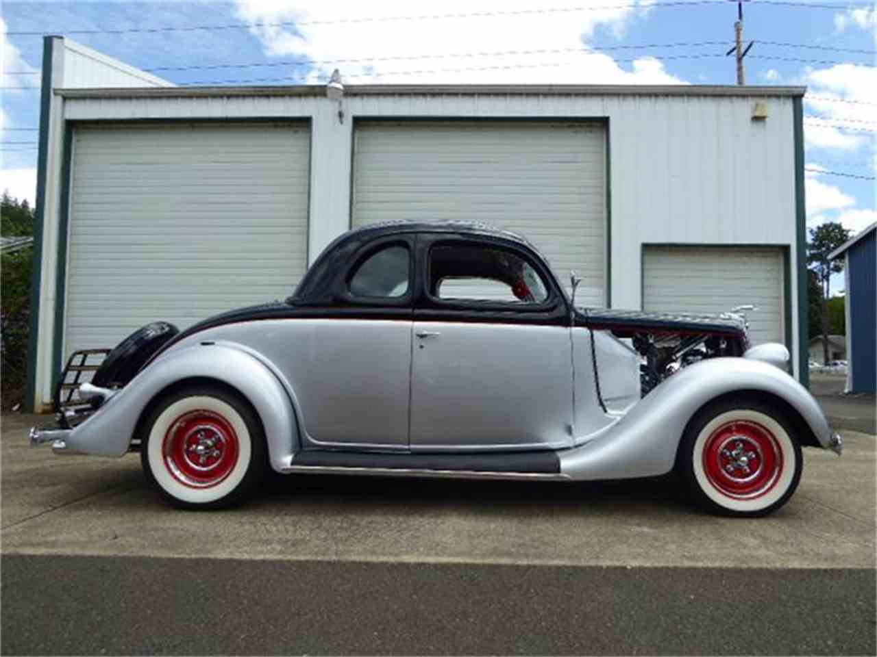1935 ford 2 dr coupe for sale cc 882443 for 1935 ford 2 door sedan for sale