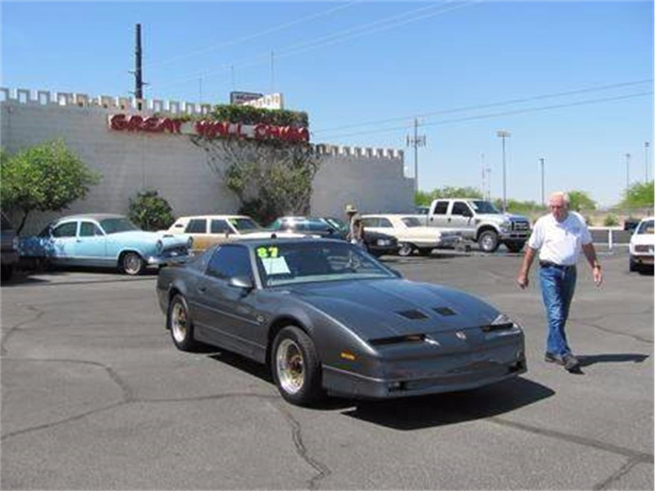 1987 Pontiac Firebird Trans Am For Sale