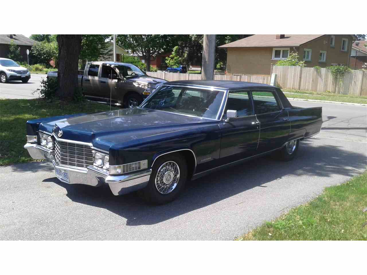 1969 cadillac fleetwood for sale cc 882494. Black Bedroom Furniture Sets. Home Design Ideas