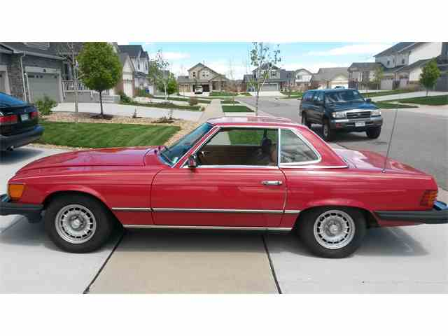 1981 mercedes benz 380sl for sale on 10 for 380sl mercedes benz for sale