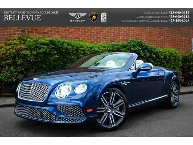 2016 Bentley Continental | 882514