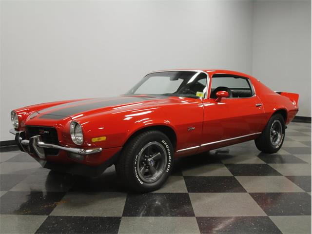 1973 chevrolet camaro z28 - photo #25