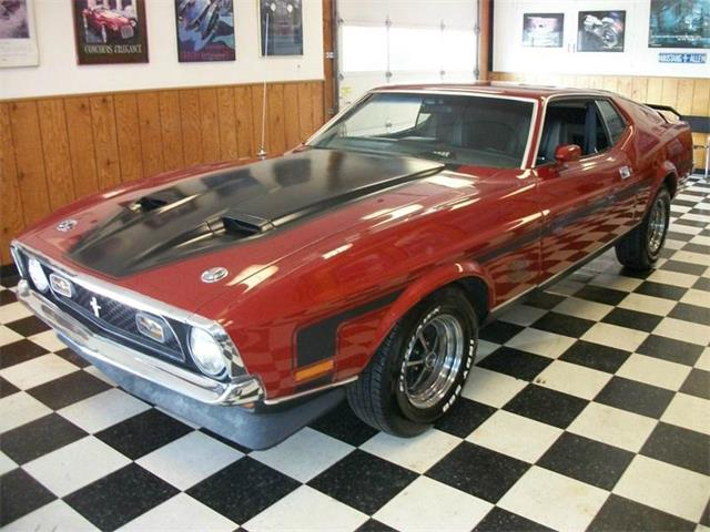 1971 Ford Mustang   882639