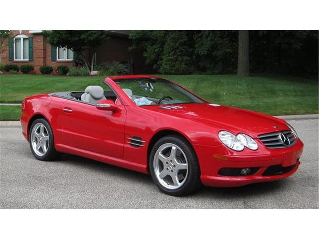 2003 Mercedes-Benz SL500 | 882843