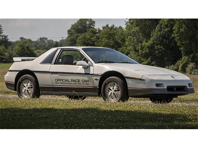 1984 Pontiac Fiero Indy 500 Pace Car | 882872