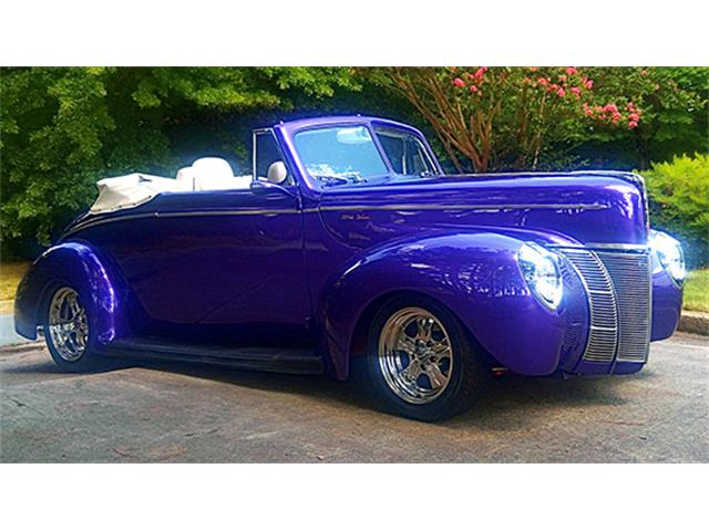 1940 Ford Street Rod Convertible Club Coupe | 882890