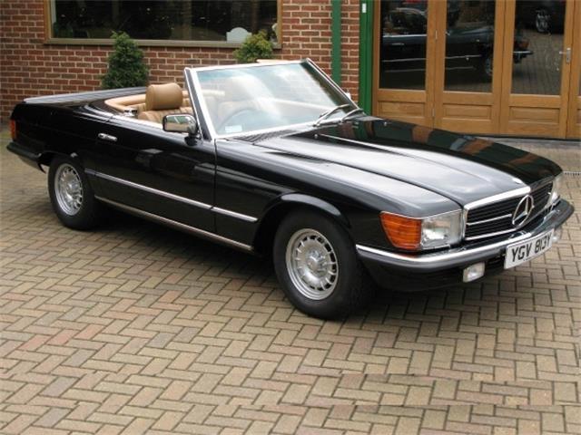 1983 Mercedes 500 SL RHD | 880400