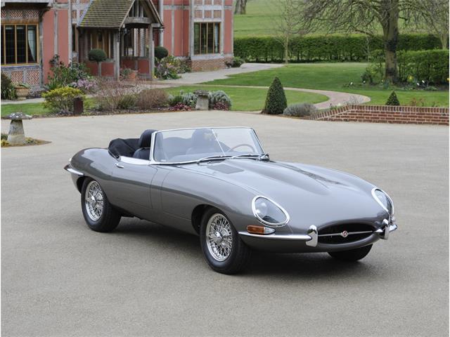 1966 Jaguar E-Type Series 1 4.2 Litre LHD JD Sport Roadster
