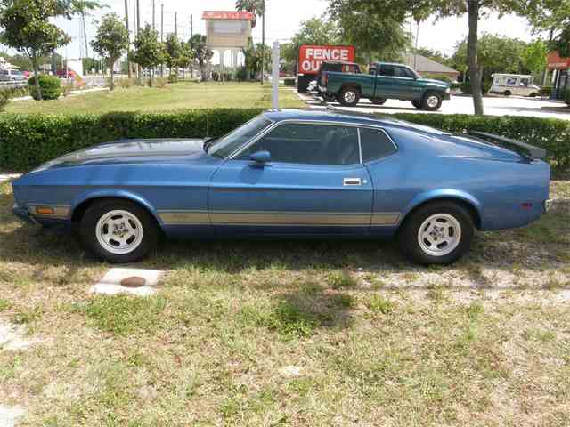 1973 Ford Mustang Mach 1 | 884038