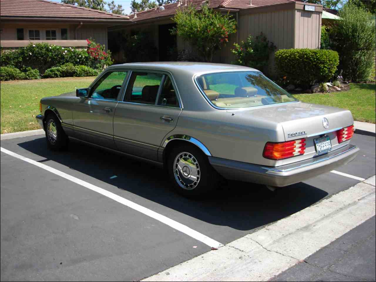 1991 mercedes benz 560sel for sale cc for Mercedes benz monterey ca