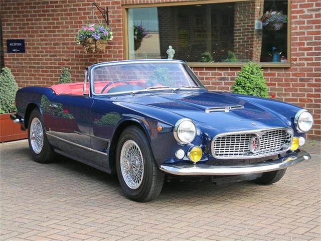 1964 Maserati 3500 GTI Vignale Spyder | 880416