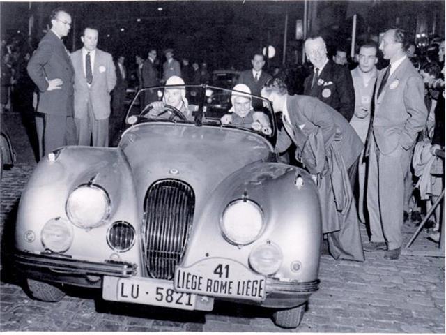 1951 Jaguar XK120 Rally Car 3.4 Liege-Rome-Liege | 880417