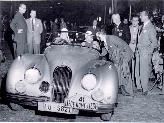 1951 Jaguar XK120 Rally Car 3.4 Liege-Rome-Liege | 880417