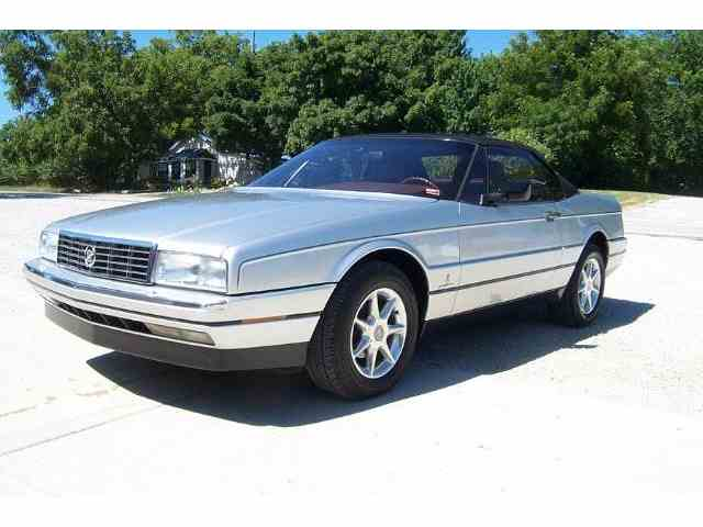 1987 cadillac allante for sale on 6. Black Bedroom Furniture Sets. Home Design Ideas