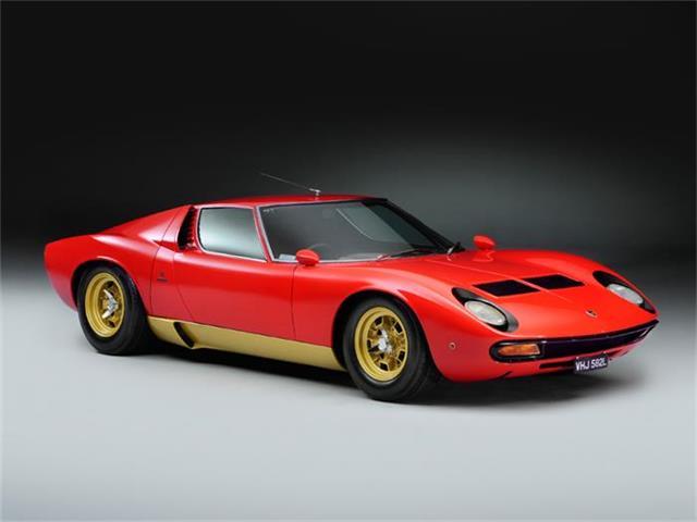 1972 Lamborghini Miura | 880425
