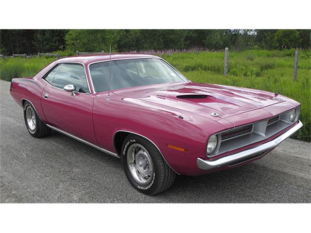 1970 Plymouth `Cuda Two-Door Hardtop | 884334