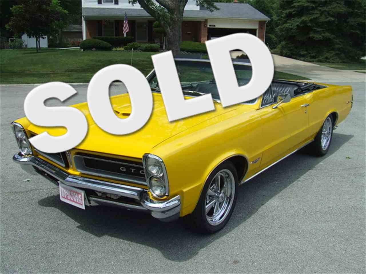 1965 Pontiac GTO for Sale - CC-884429