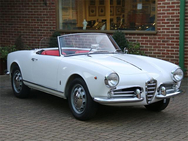 1959 Alfa Romeo Giulietta 750 D Spider LHD | 880455