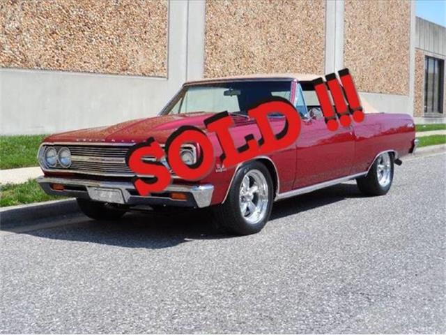 1965 Chevrolet Malibu | 884553