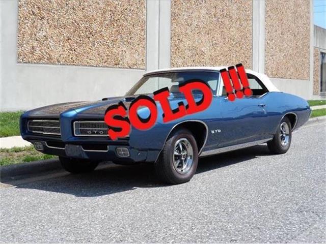 1969 Pontiac GTO | 884554