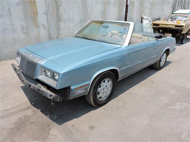1985 Chrysler LeBaron | 884587