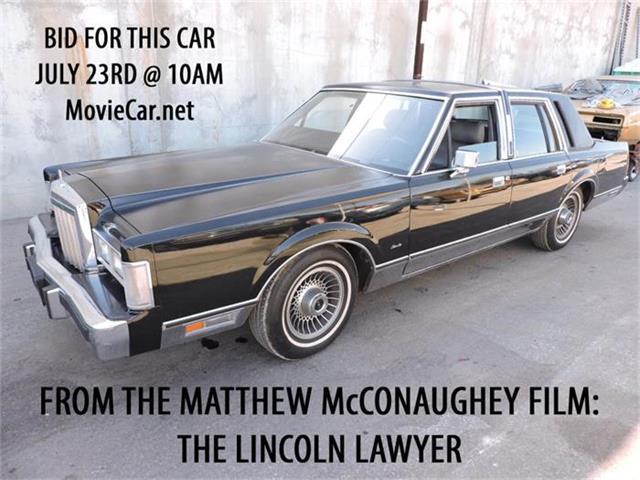 1986 Lincoln Town Car | 884613