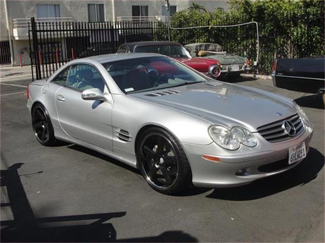 2003 Mercedes-Benz SL500   884947