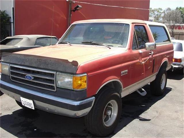 1990 Ford BroncoCustom 2dr Custom | 884951