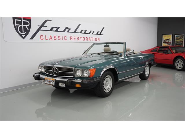 1985 Mercedes-Benz 380SL | 885029