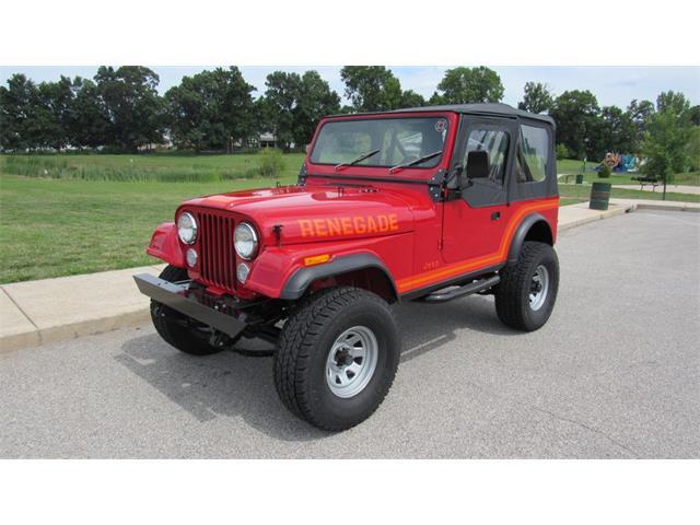 1984 Jeep CJ7   885615