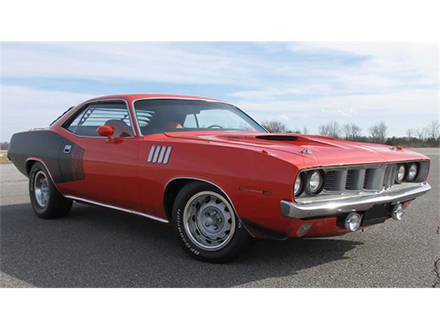 1971 Plymouth `Cuda 340 Two-Door Hardtop | 885700