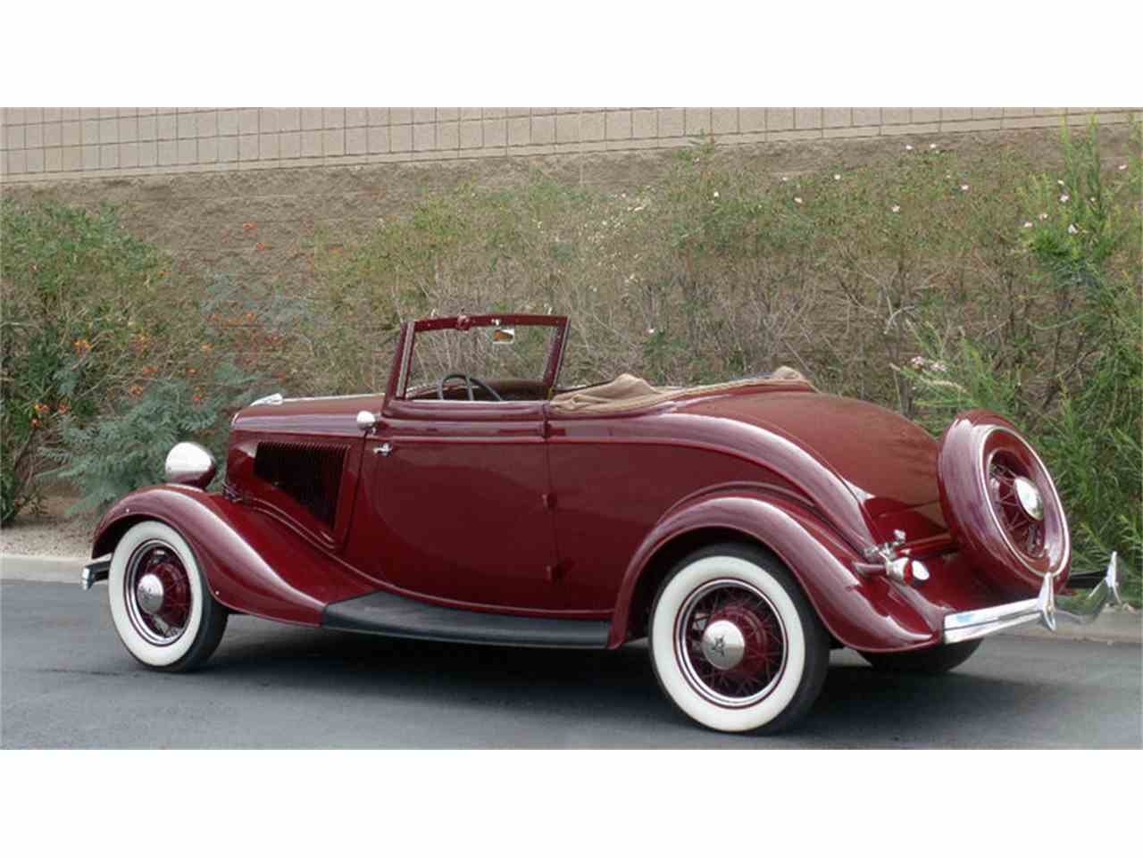 1934 Ford Cabriolet For Sale Classiccars Com Cc 885894