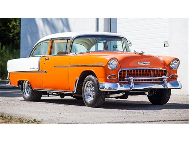 1955 Chevrolet Bel Air Two-Door Sedan Custom | 885922