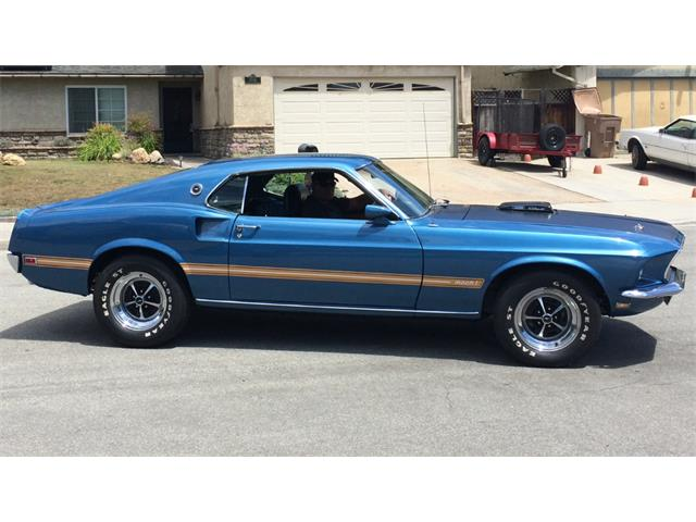 1969 Ford Mustang Mach 1 | 885942