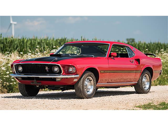 1969 Ford Mustang Mach 1 428 SCJ | 885998