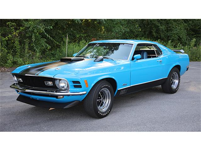 1970 Ford Mustang Mach 1 | 886024