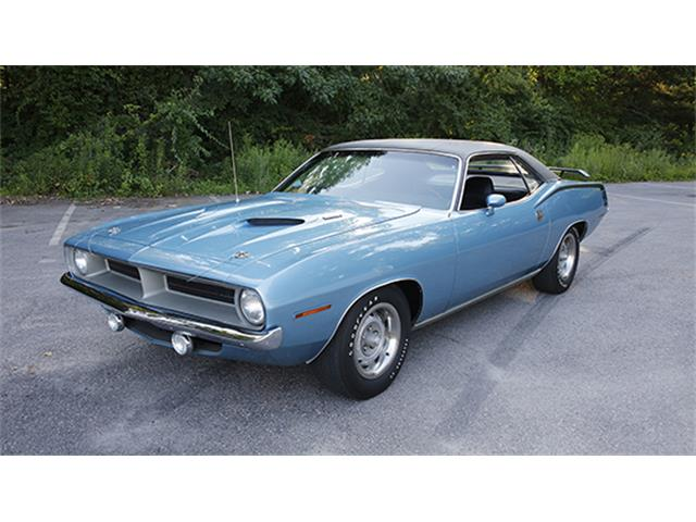1970 Plymouth `Cuda Two-Door Hardtop | 886034