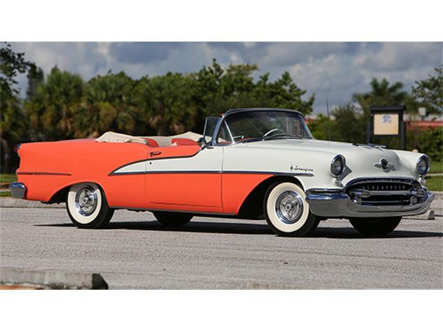 1955 Oldsmobile 98 Starfire Convertible | 886037