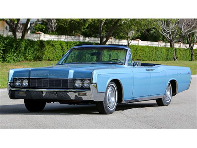 1967 Lincoln Continental Convertible Sedan | 886092