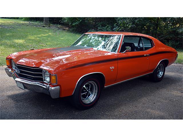 1972 Chevrolet Chevelle Malibu SS Sport Coupe Tribute | 886102