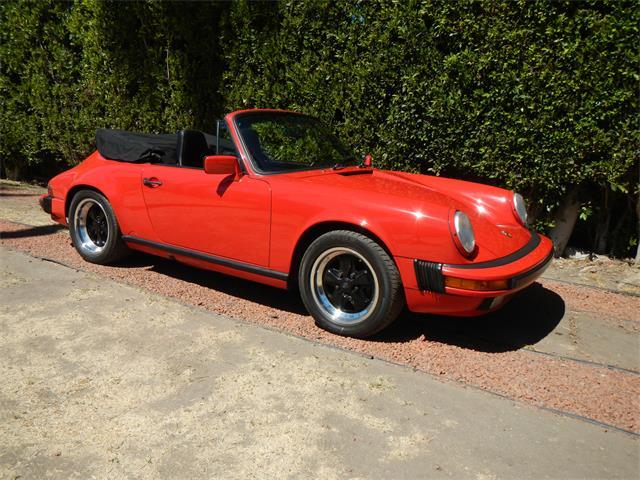 1987 Porsche 911 Carrera Convertible | 886111
